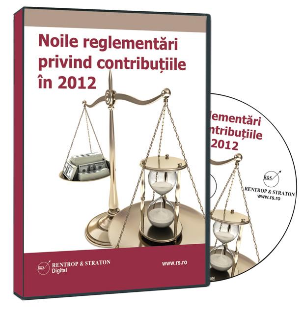 Cotele de contributii pentru asigurarile de sanatate pentru anul 2012