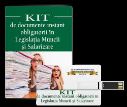 Kit de documente obligatorii in Legislatia Muncii si Salarizare