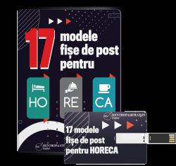 17 modele fise de post pentru Horeca